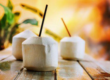 Ja, dit is dus een echte kokosnoten! Hakken wij ter plekken voor je open.